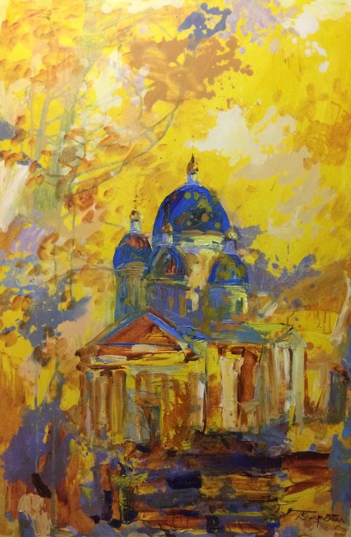 Polina Evgenevna Zaremba. Trinity Izmailovsky Cathedral