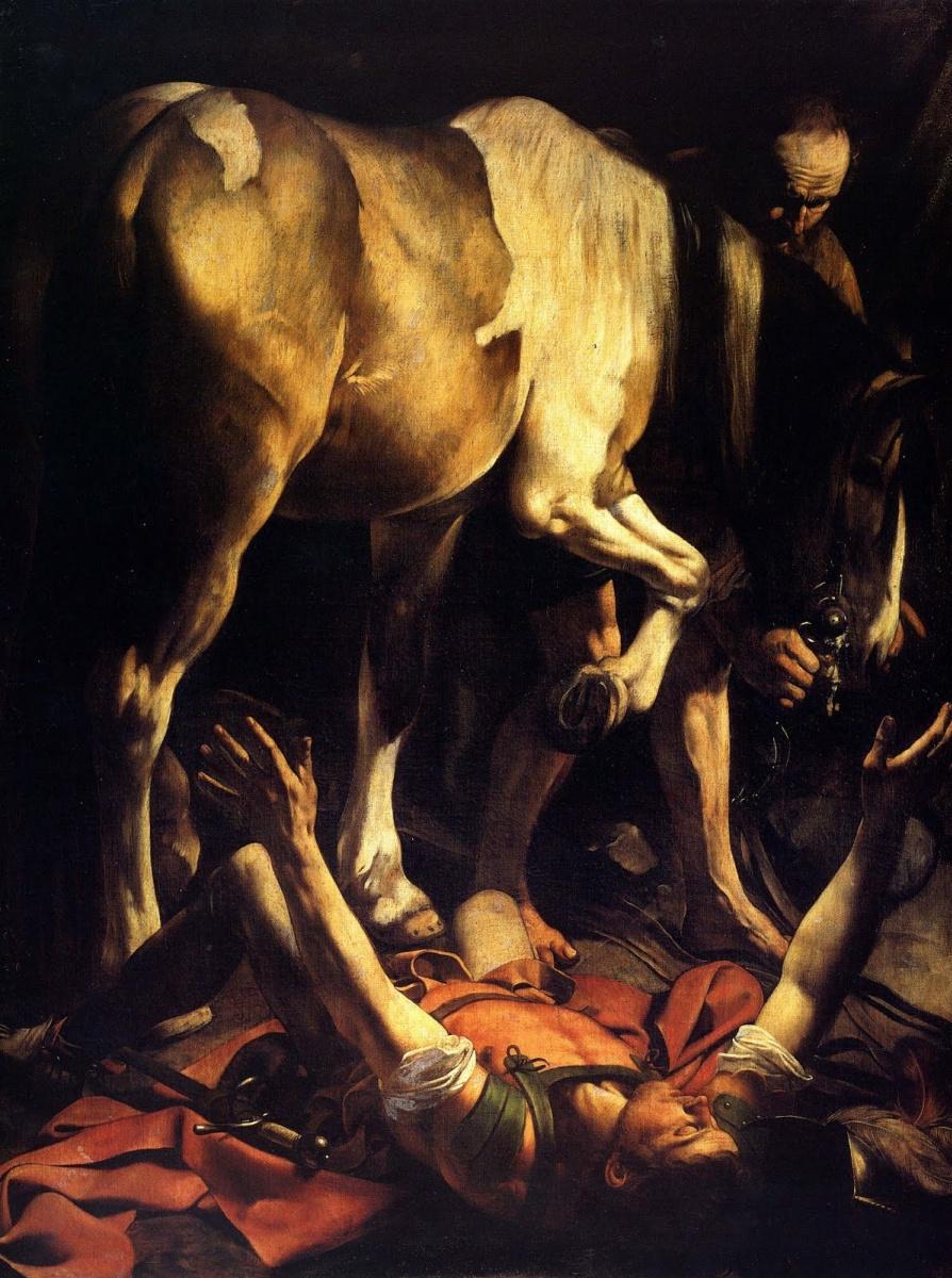 Микеланджело Меризи де Караваджо. Обращение Святого Савла