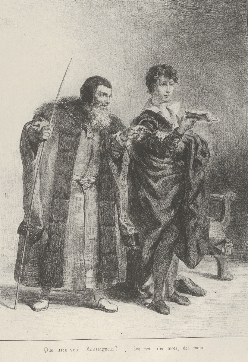 the tragic flaws of polonius in hamlet a play by william shakespeare Play hamlet essay king in the play hamlet written by william shakespeare this tragedy occurs hamlet, the main character, is confronted by his father in the beginning of the play who is now a ghost.
