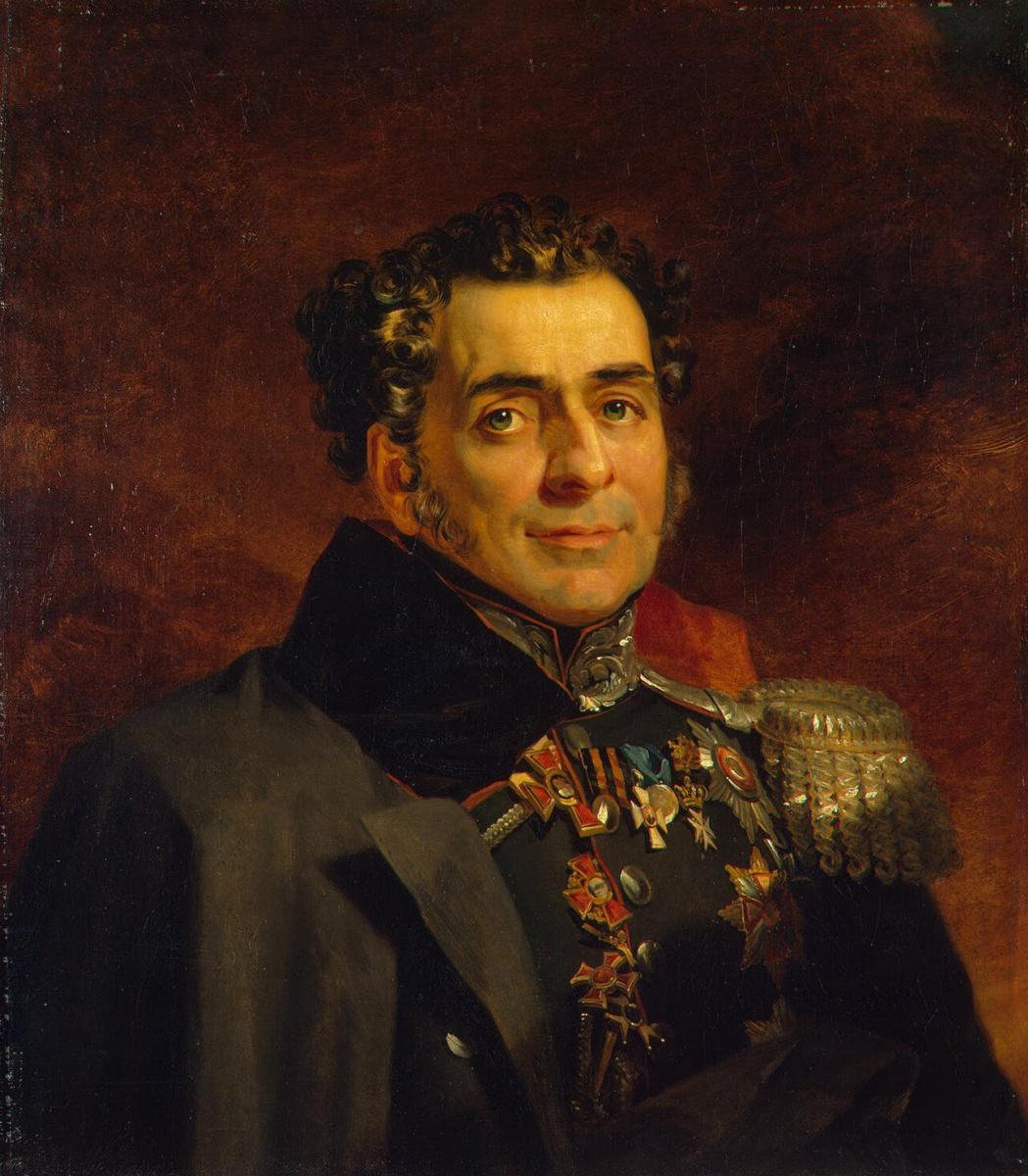 George Dow. Portrait Of Dmitry D. Kuruta