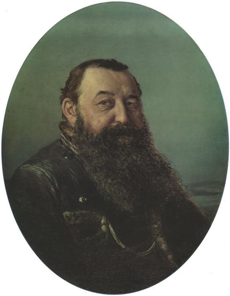 Василий Григорьевич Перов. Портрет Н. Ф. Резанова