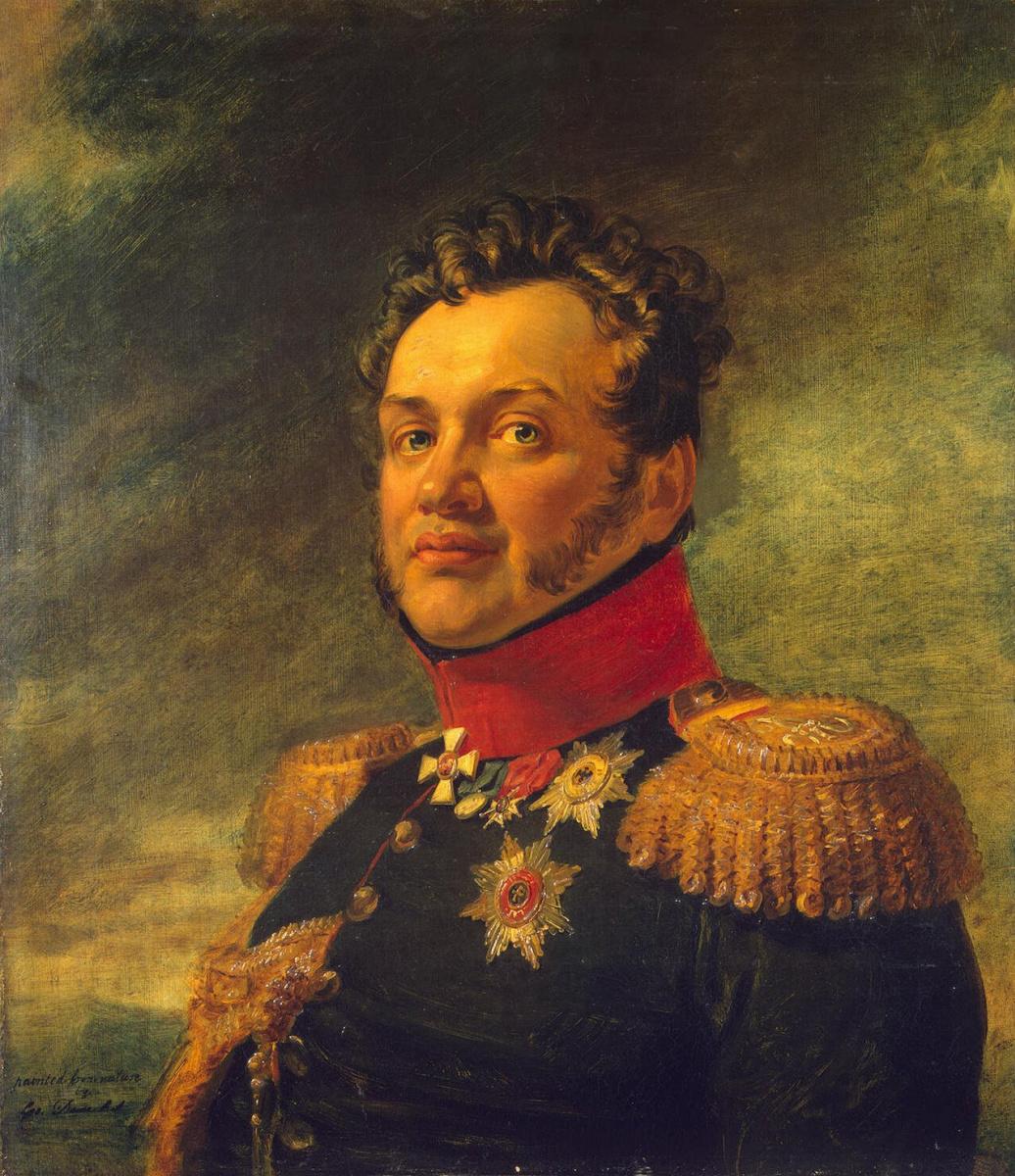 Джордж Доу. Портрет Николая Григорьевича Репнина-Волконского