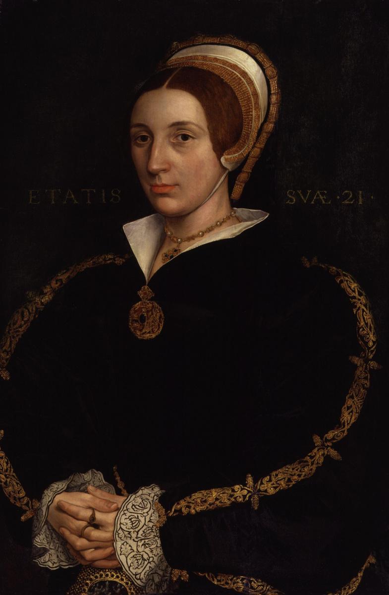 Ганс Гольбейн Младший. Портрет супруги короля Генриха VIII Катарины Говард