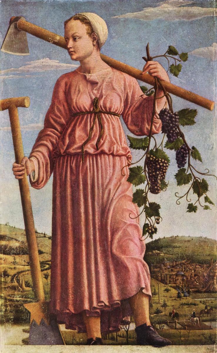 Франческо дель Косса. Осень