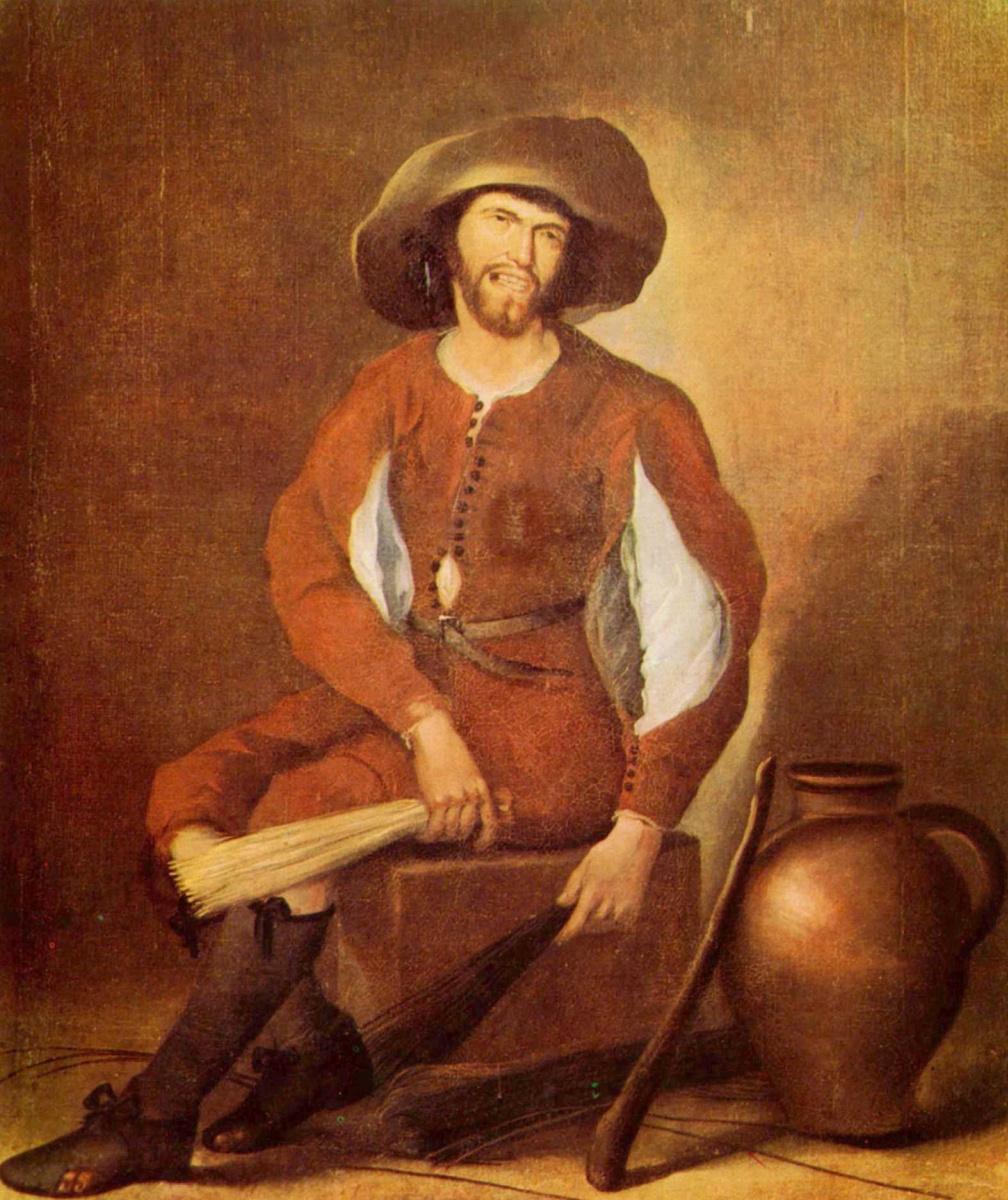 Франсиско де Эррера Старший. Вязальщик метел