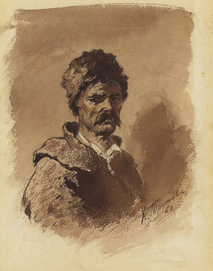 Константин Александрович Трутовский. Тип украинского крестьянина