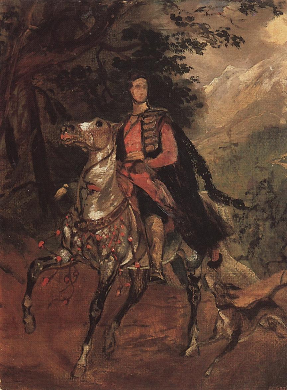 Karl Bryullov. Portrait Of A. N. Demidova. Sketch