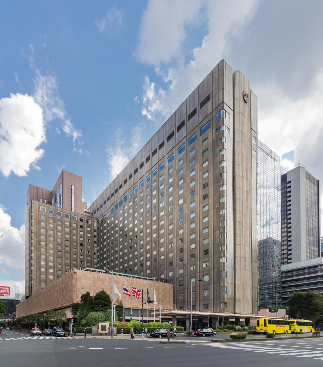 Frank Lloyd Wright. Hotel Imperial in Tokyo