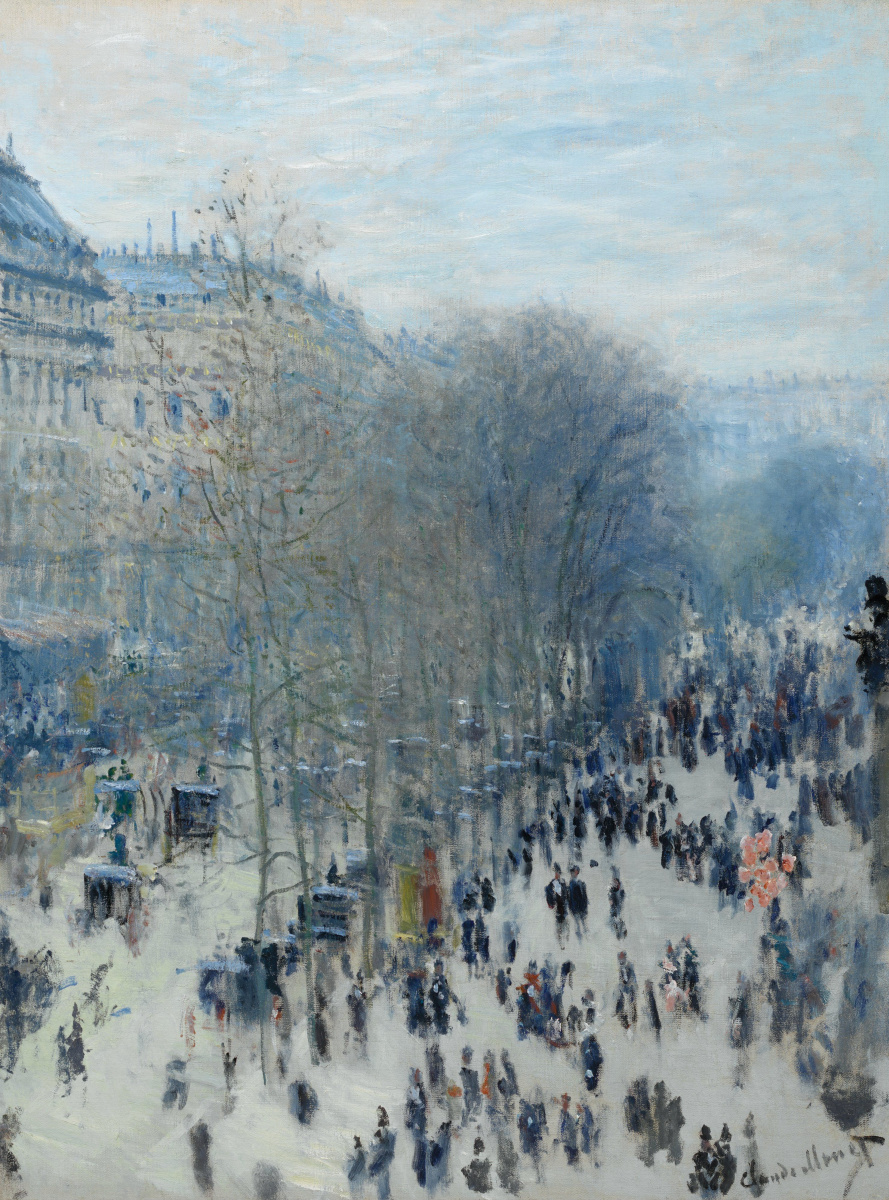 Claude Monet. Boulevard Of Capucines