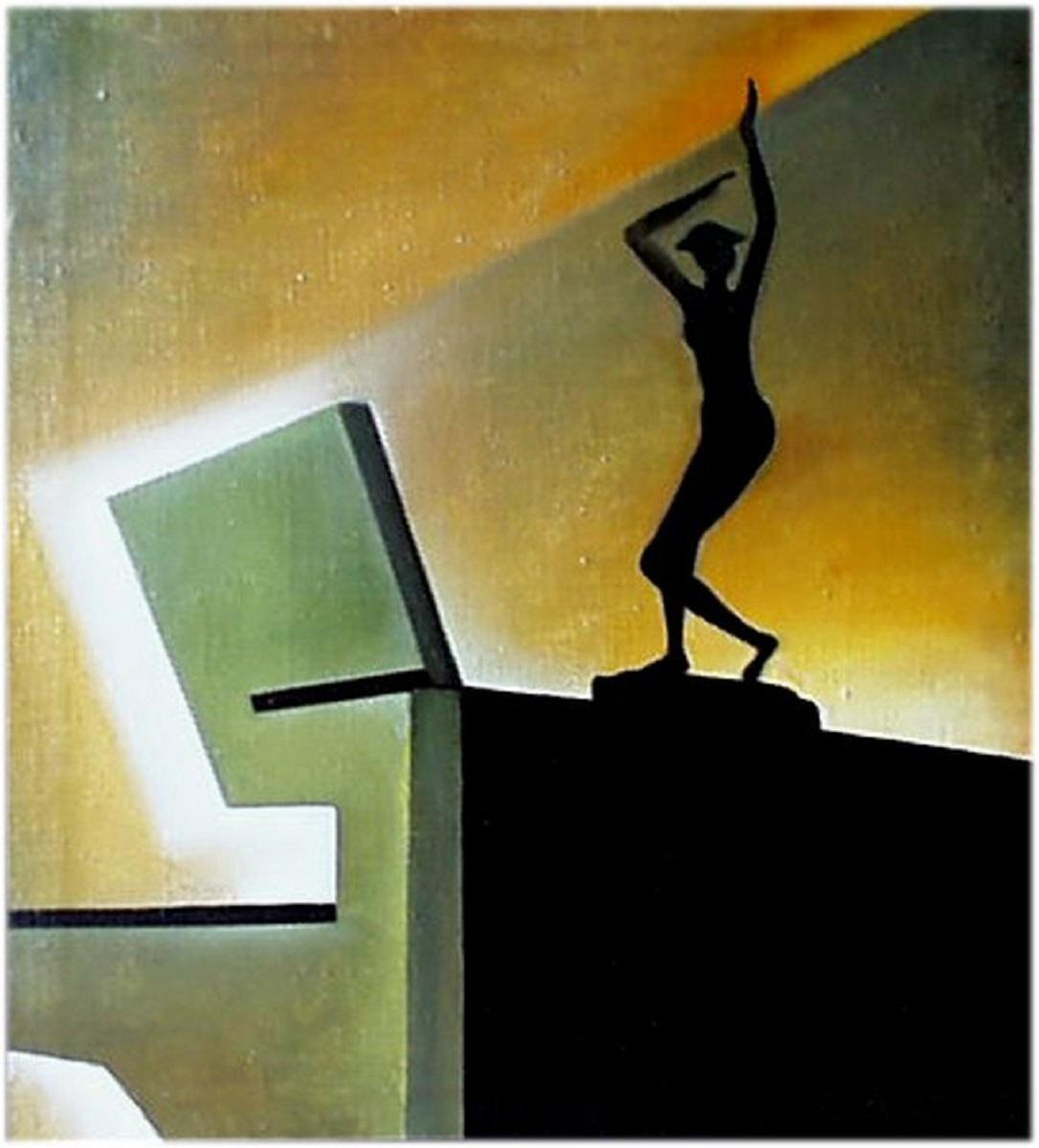 Владимир Васильевич Абаимов. The Statuette in Interior