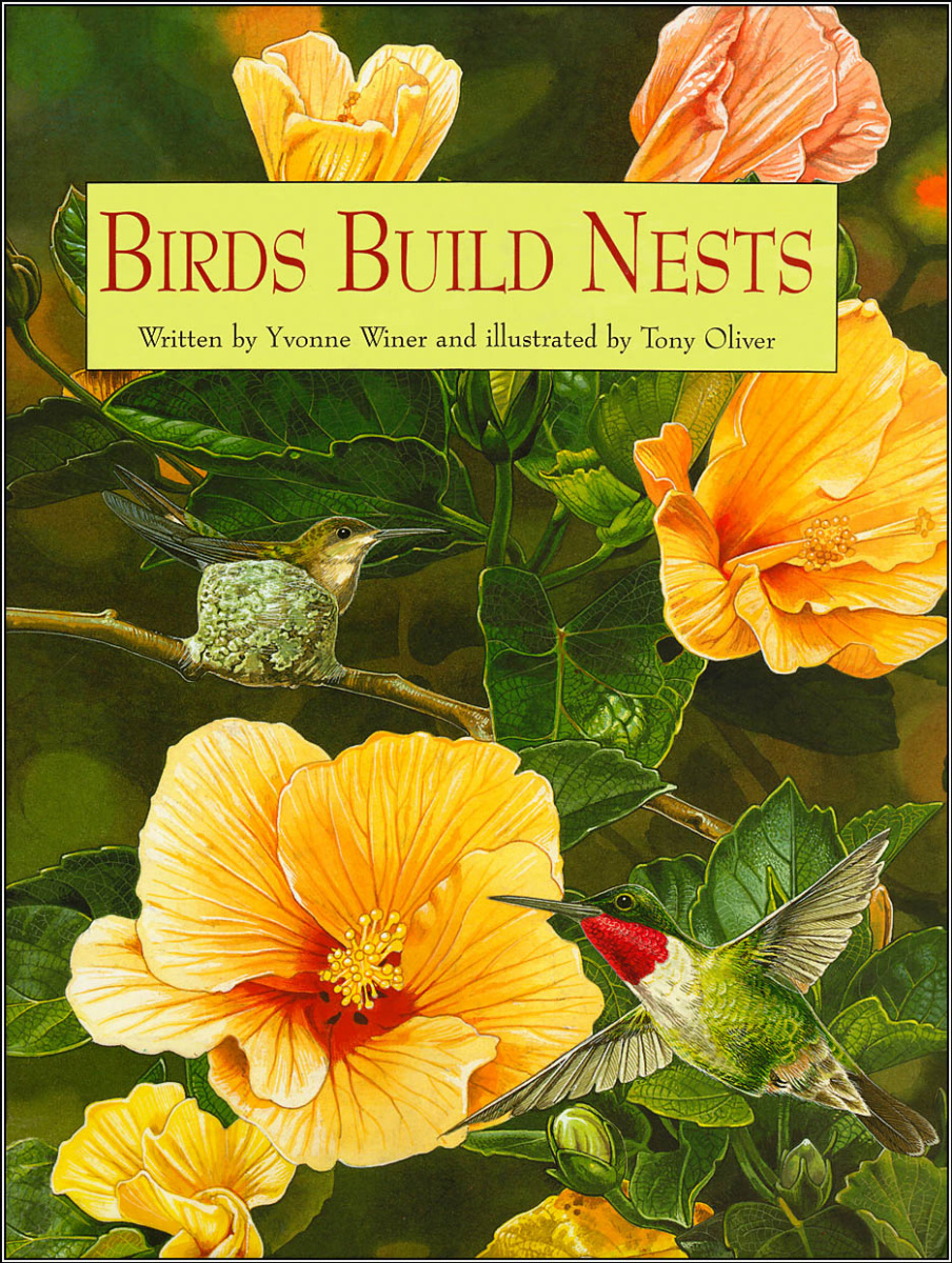 Тони Оливер. Птицы строят гнезда, обложка