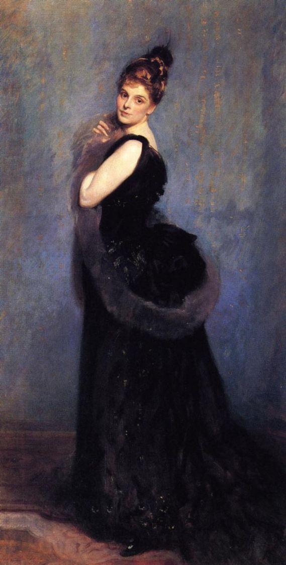 John Singer Sargent. Mrs. George Gribble