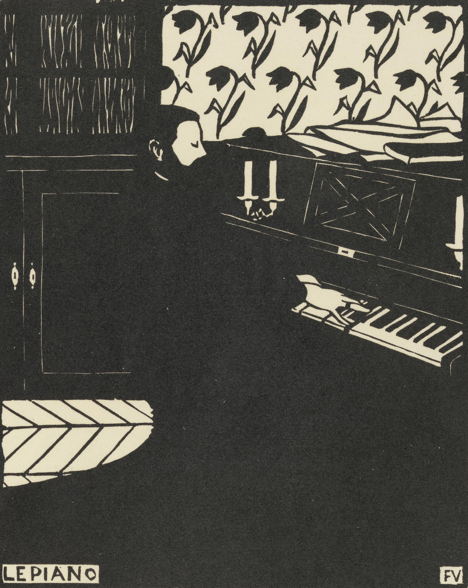 Феликс Валлоттон. Пианино