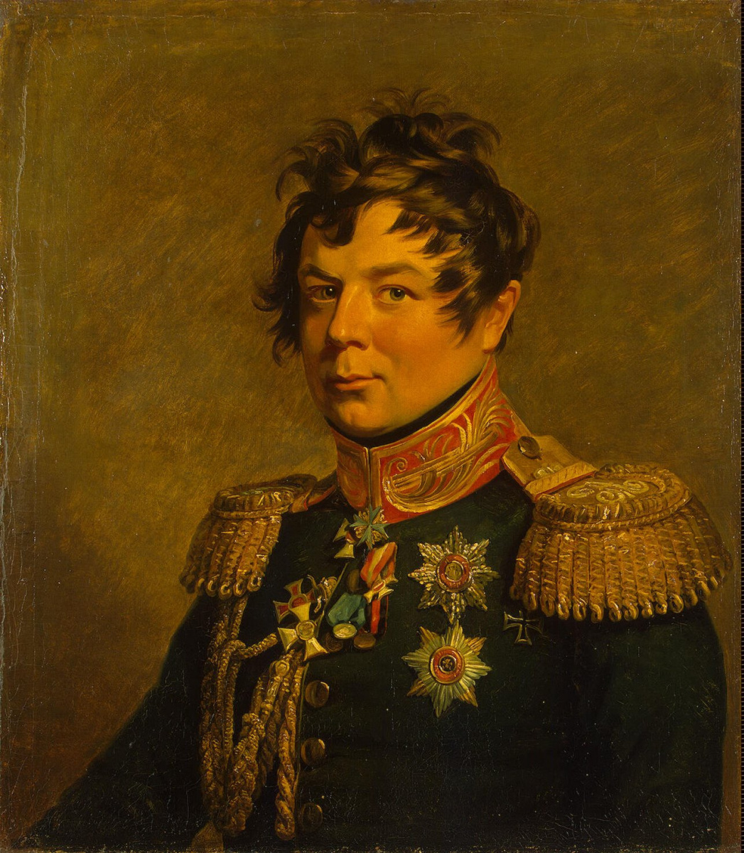 Джордж Доу. Портрет Ивана Ивановича Дибича-Забалканского