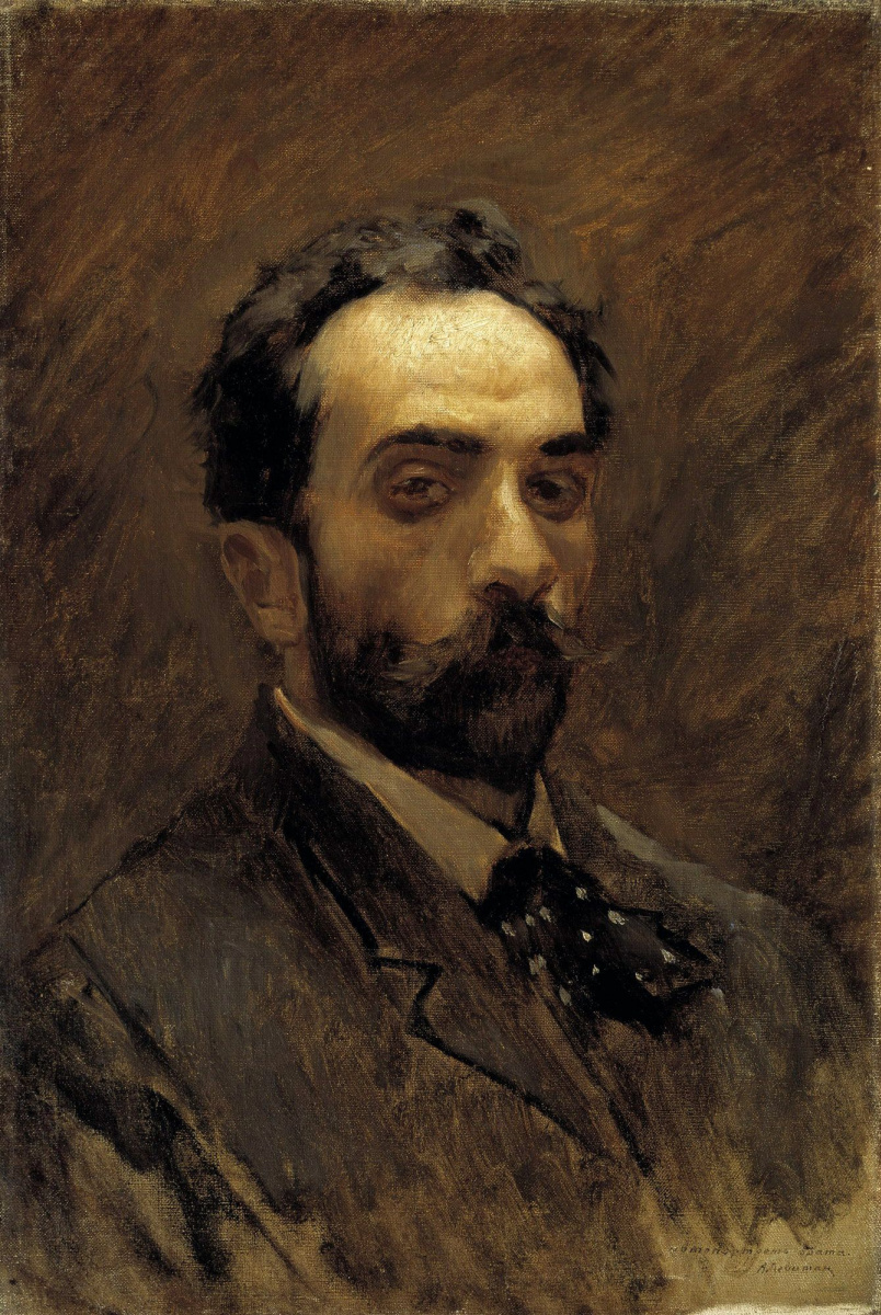 Isaac Levitan. Self-portrait