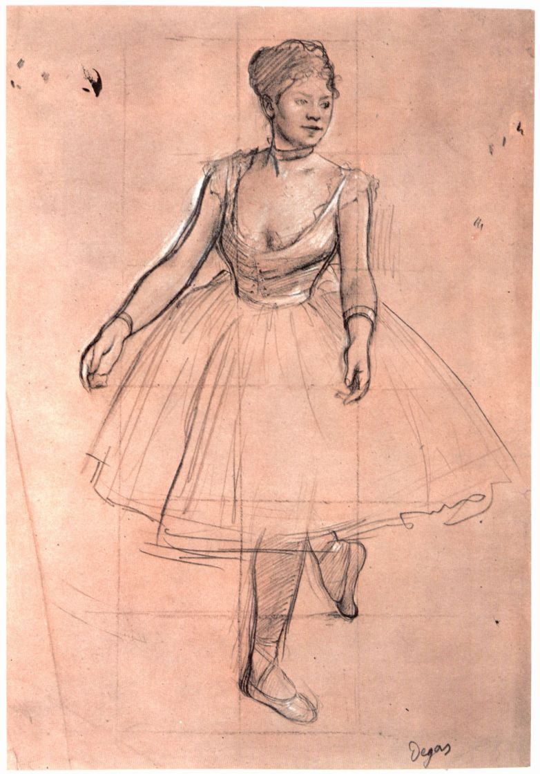 Эдгар Дега. Балерина
