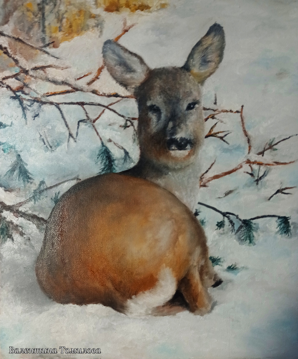 Valentina Tomilova. Roe deer