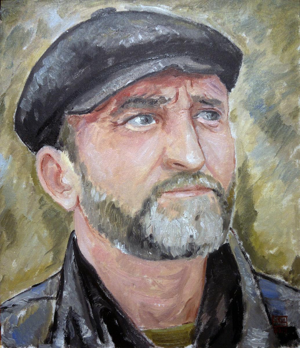Yuri Petrovich Konnov. Portrait of a friend of Paul