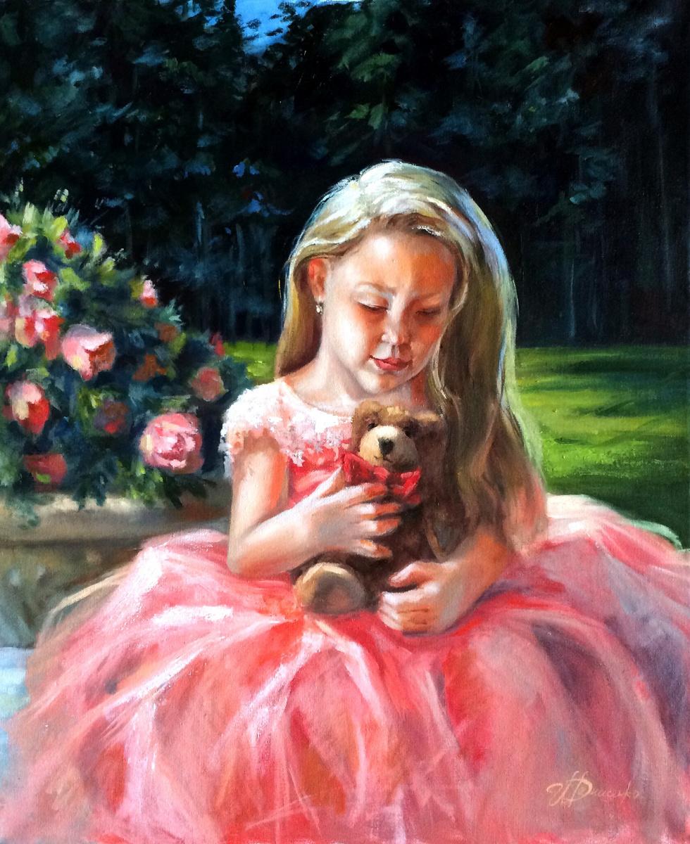 Irina Valerievna Denisenko. Fluffy friend