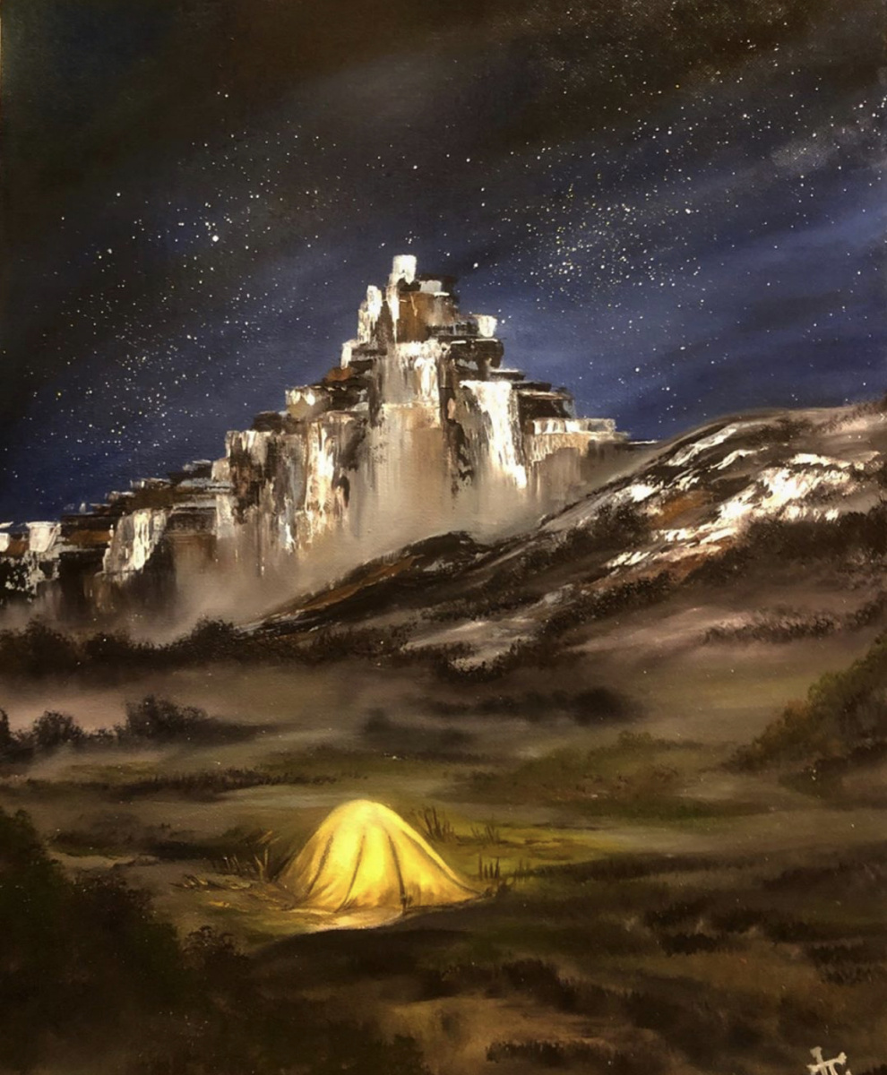 Mila Trushkova. Climbing. Mount Ak-kaya. Crimea