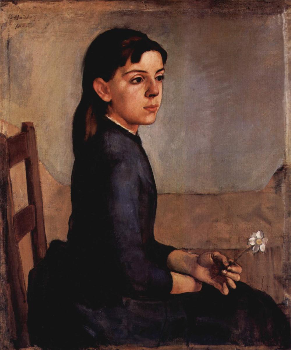Ferdinand Hodler. Portrait Of Louise-Delphine, Duchosal