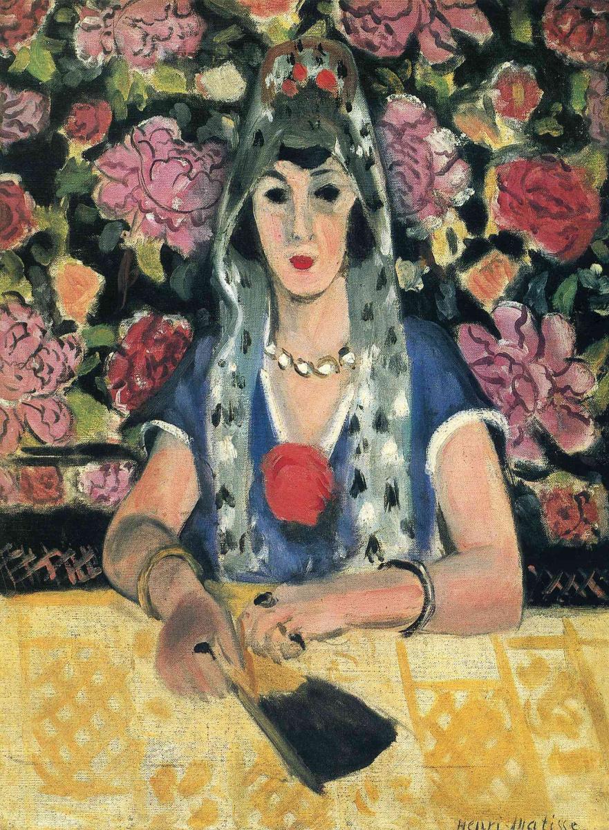 Анри Матисс. Портрет женщины с веером