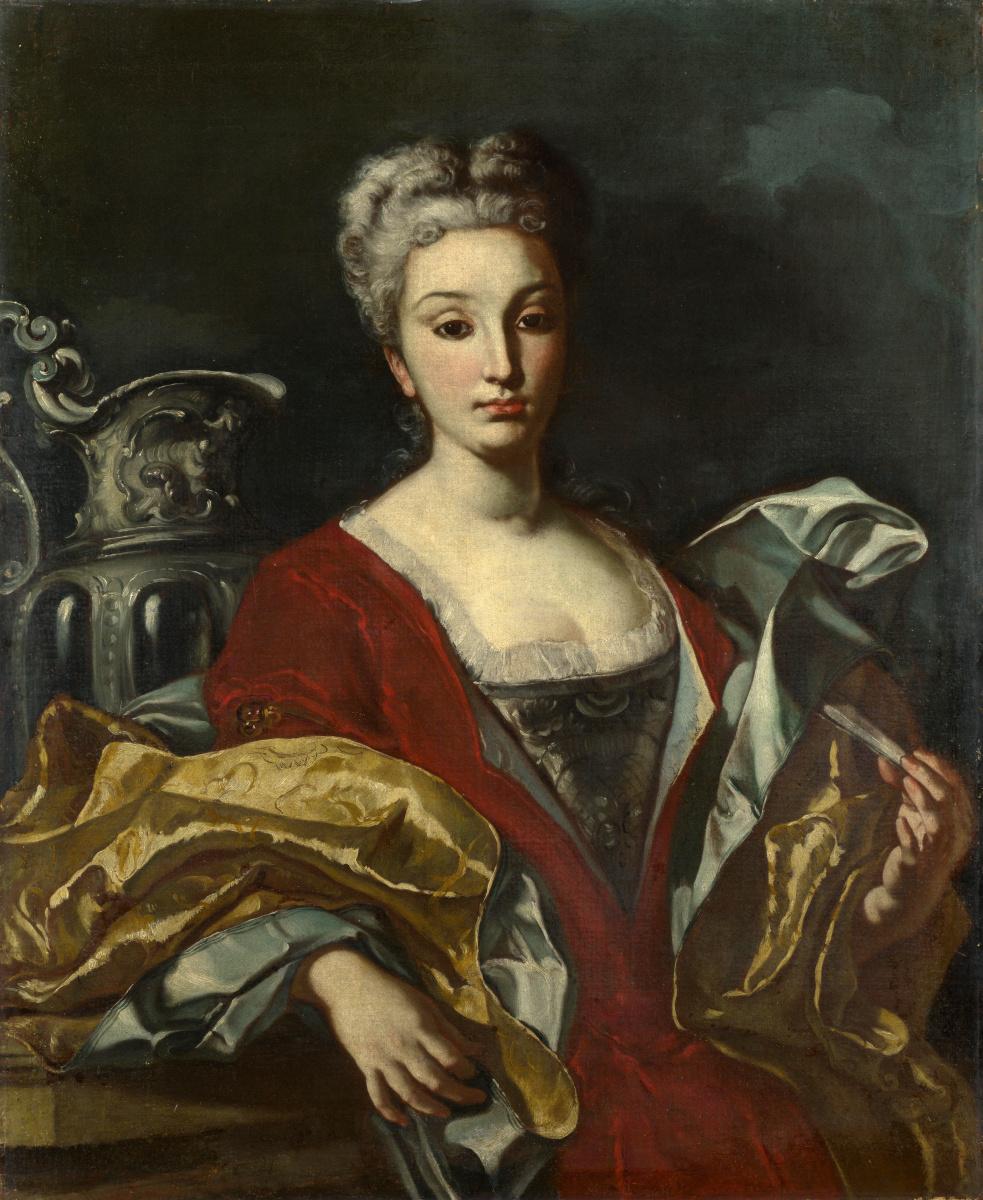 Неаполитанские Итальянские. Портрет леди