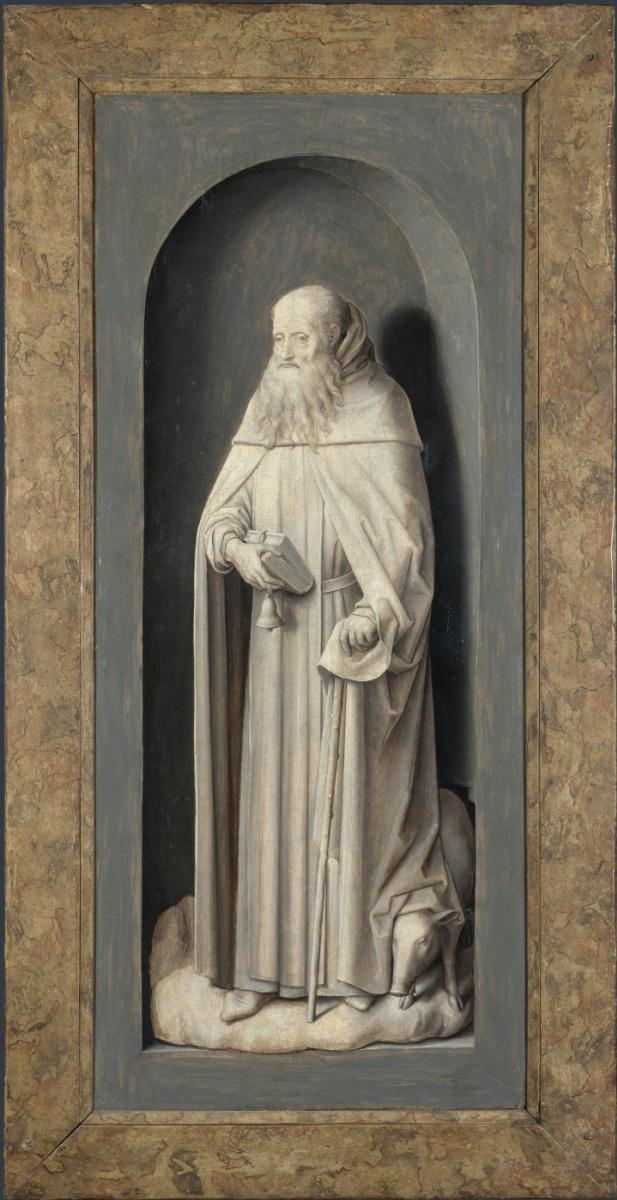 Ганс Мемлинг. Святой Иоанн Богослов