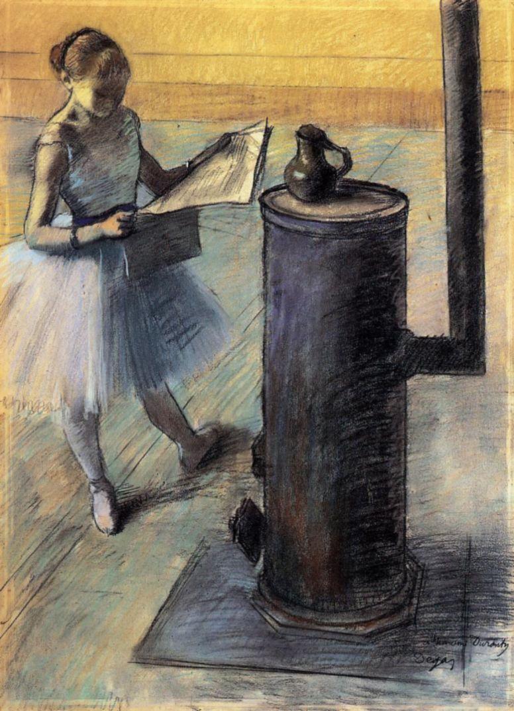 Эдгар Дега. Отдых балерины