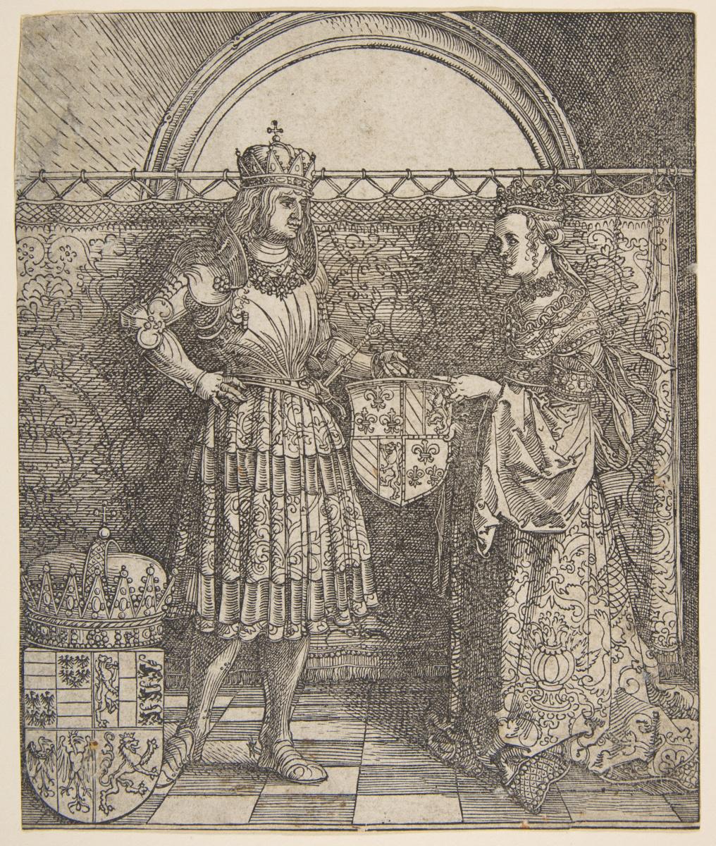 Albrecht Dürer. The Betrothal Of Mary Of Burgundy