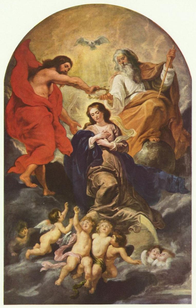 Питер Пауль Рубенс. Коронование Марии