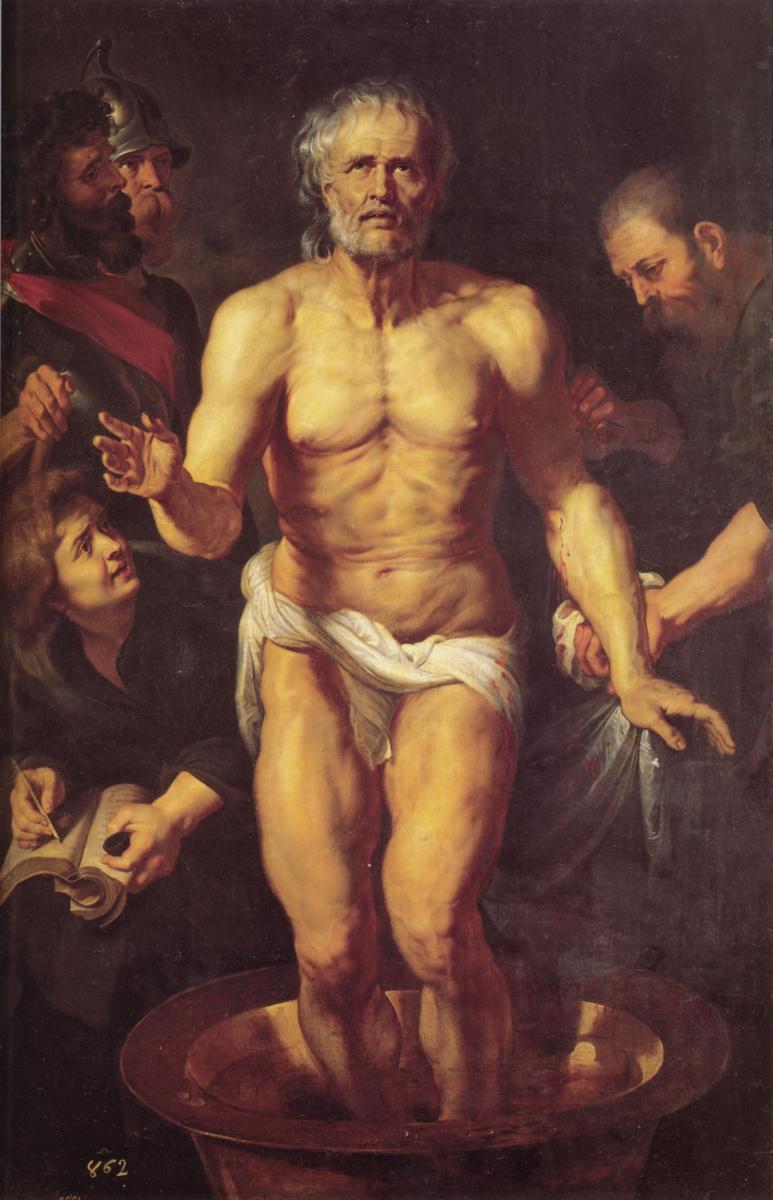Результат Изображения для Питера Пауля Рубенса: «Смерть Сенеки»