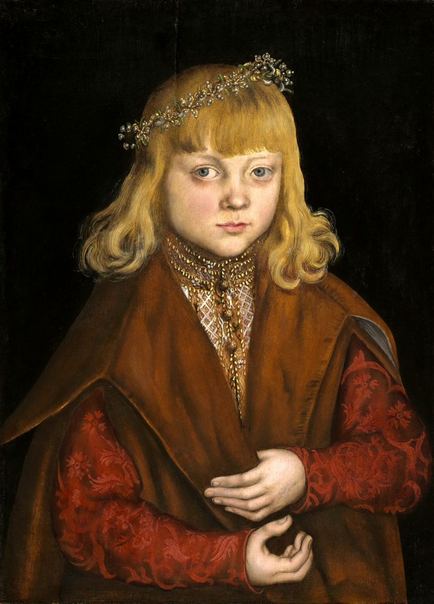 Лукас Кранах Старший. Саксонский принц
