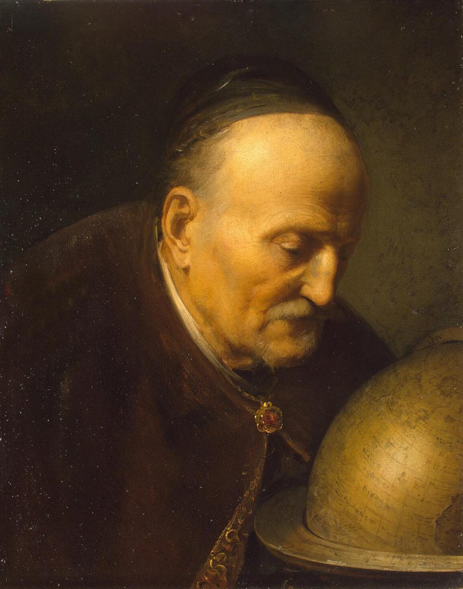 Герард Доу. Астроном
