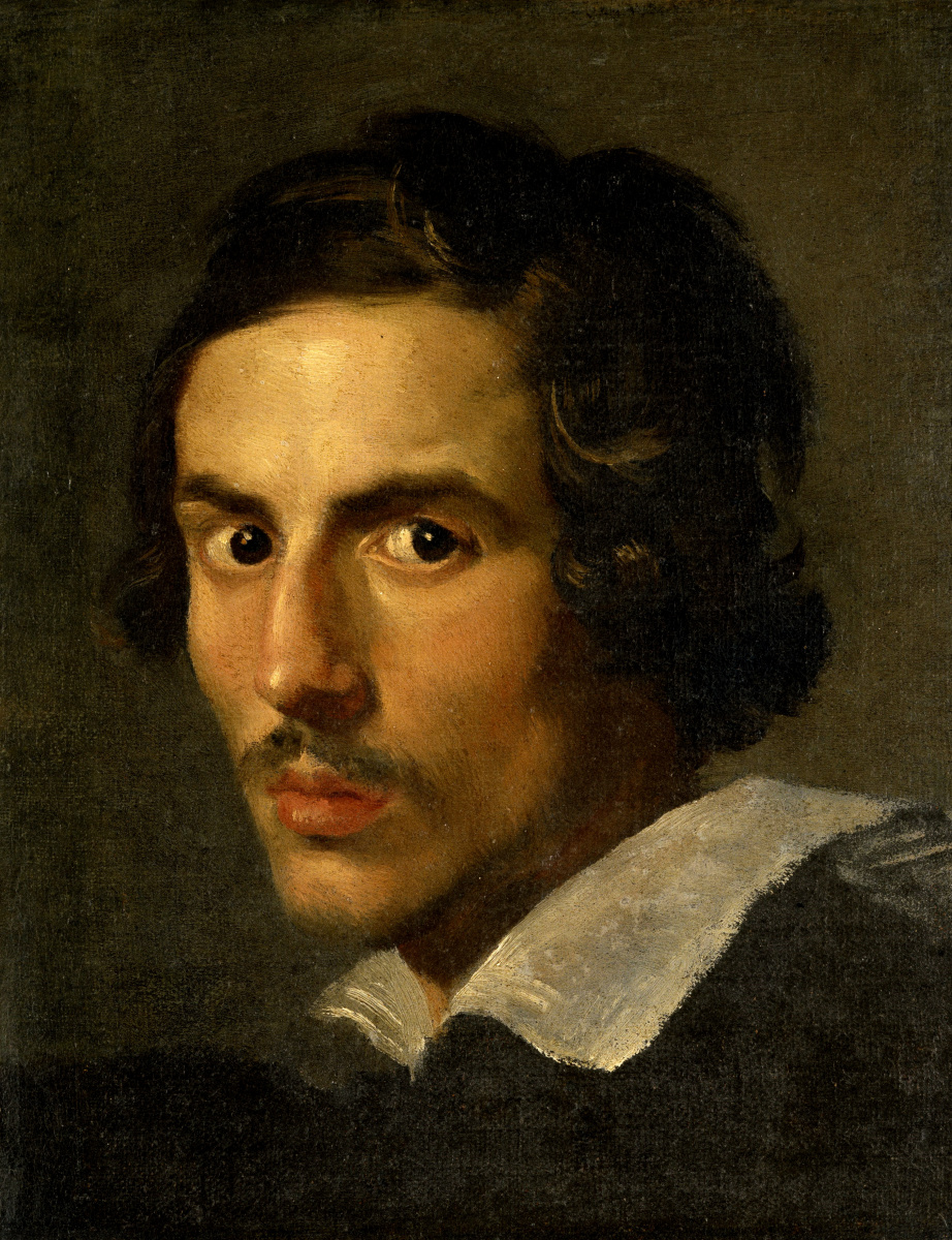 Gian Lorenzo Bernini. Self-portrait at a young age