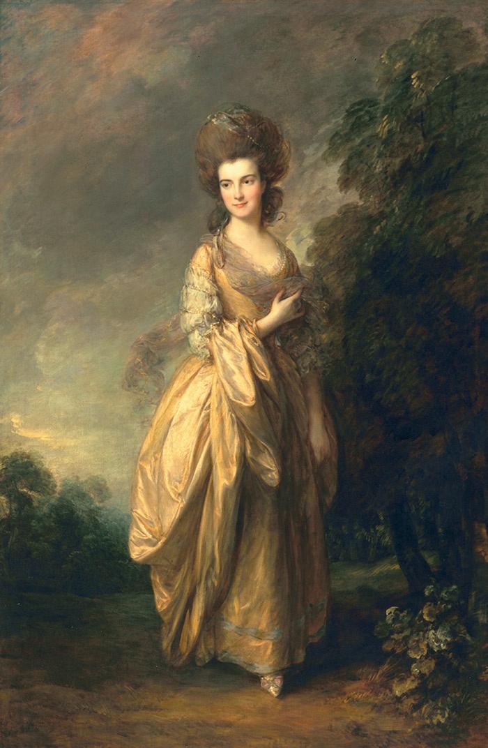 Thomas Gainsborough. Elizabeth Jenks Buti the late Elizabeth pycroft