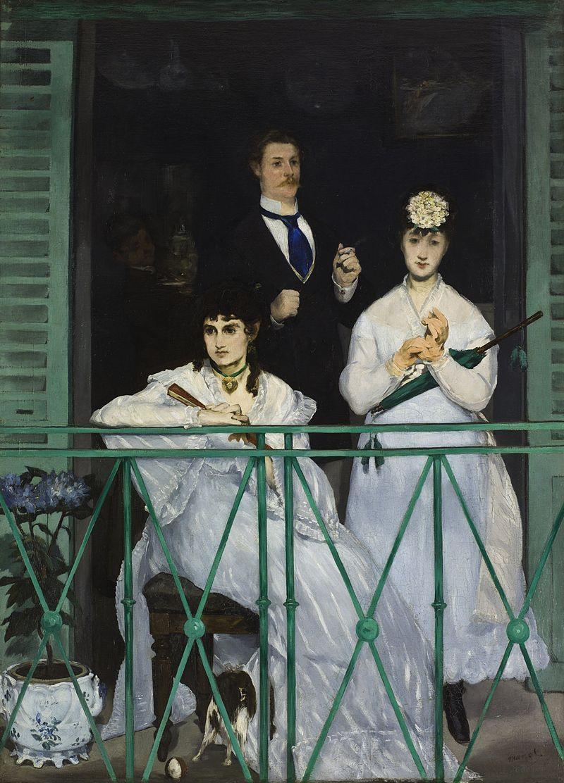 Edouard Manet. Balcony