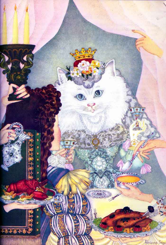 Adrienne Segur. Princess-cat