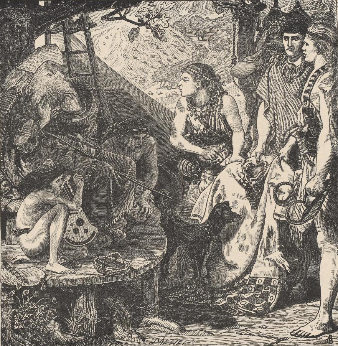Форд Мэдокс Браун. Сыновья показывают Иакову тунику брата Иосифа, проданного в рабство