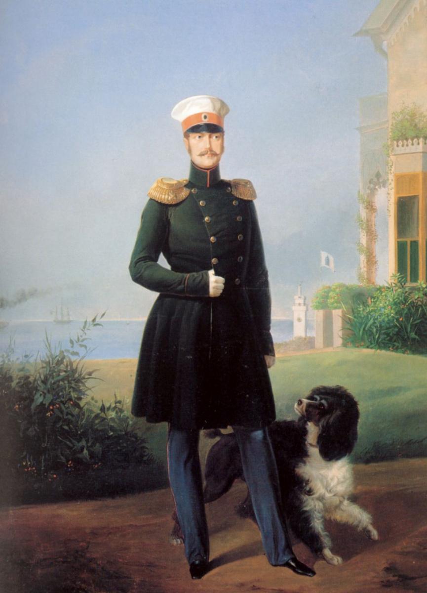 Франц Крюгер. Портрет императора Николая I