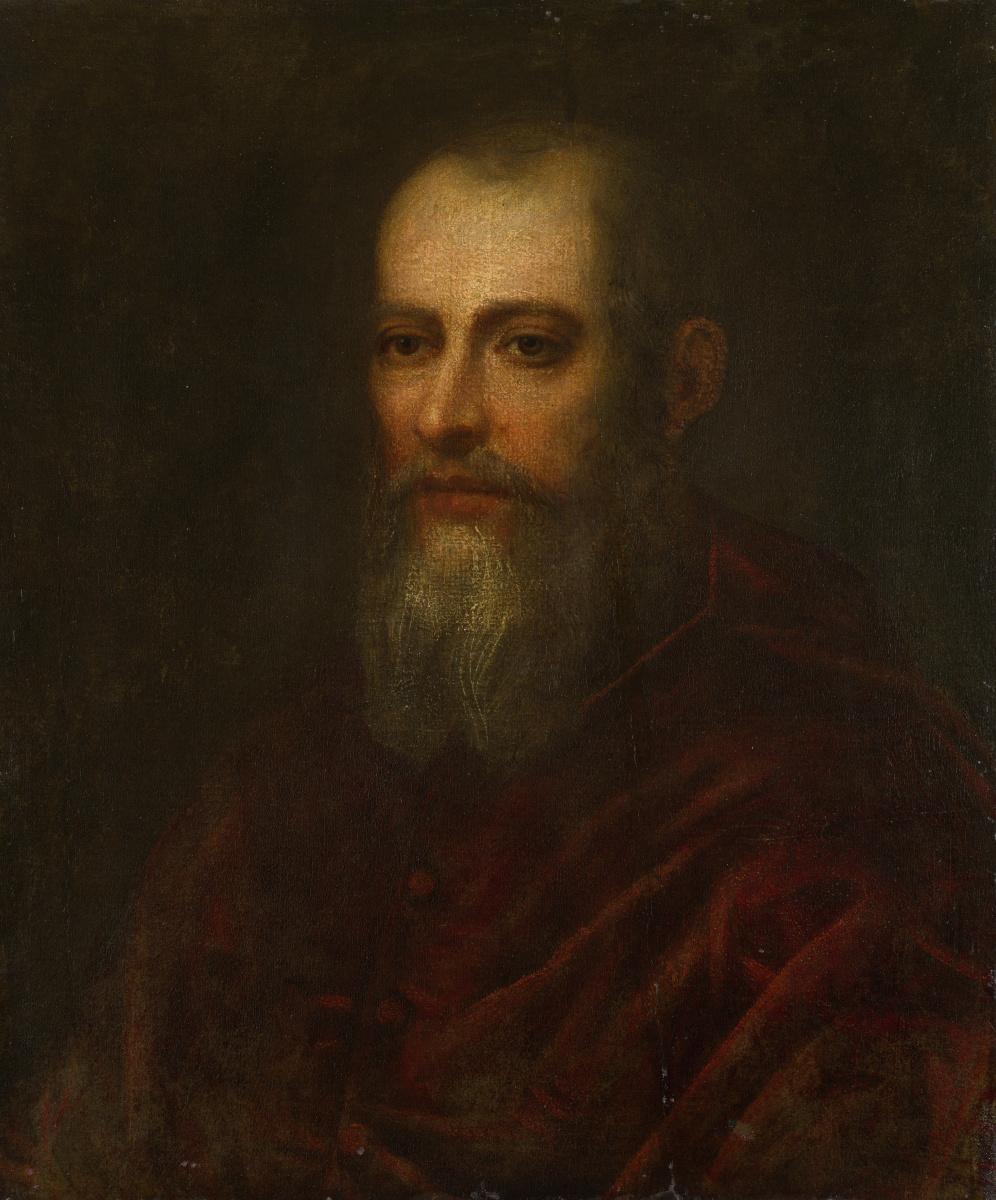 Венецианская Итальянский. Портрет бородатого кардинала