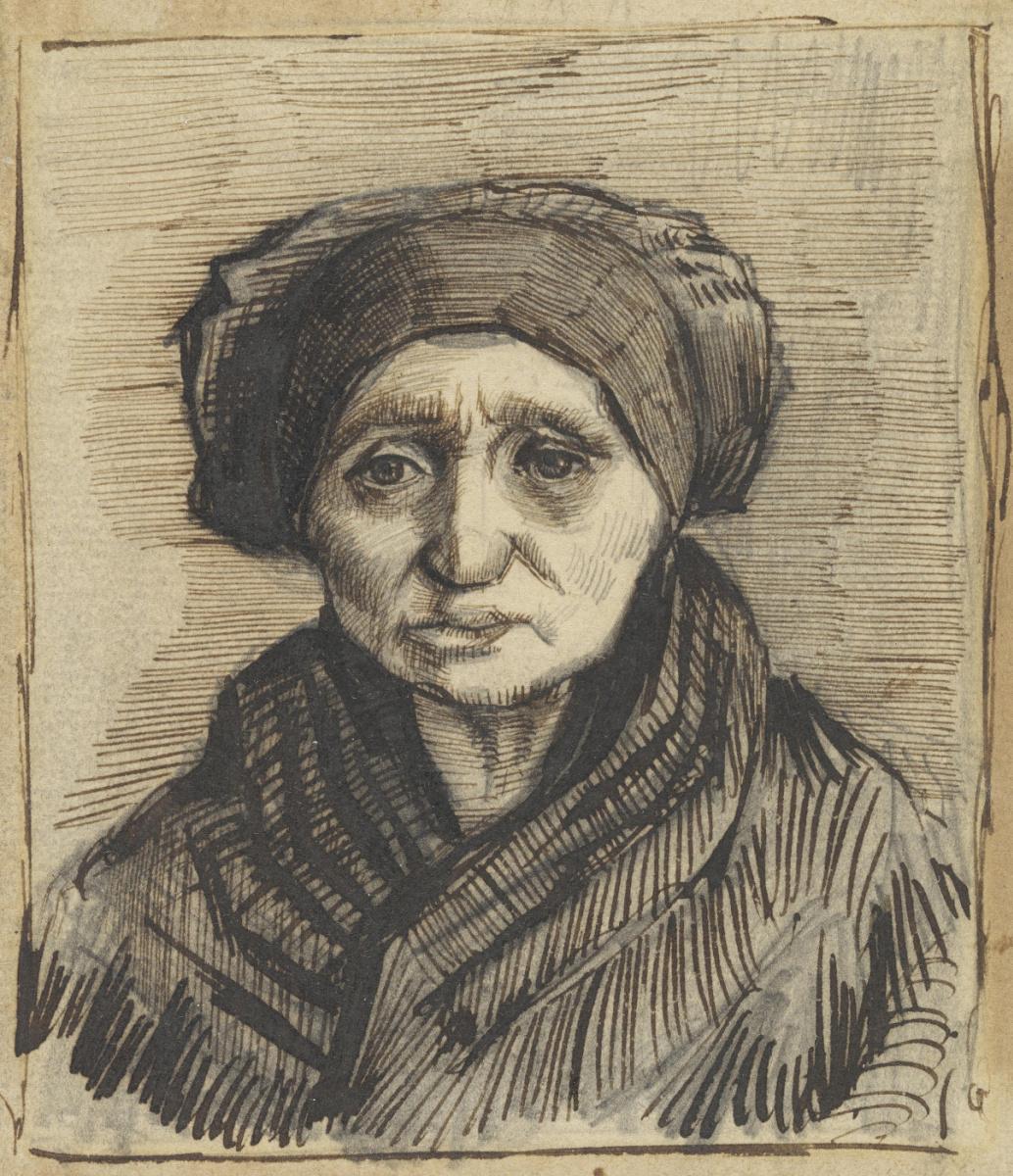 Vincent van Gogh. Head of a woman