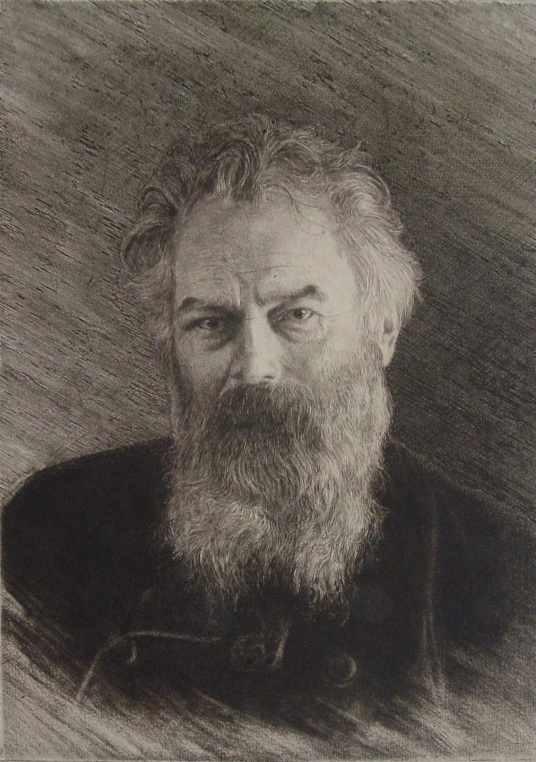 Ivan Ivanovich Shishkin. Self-portrait