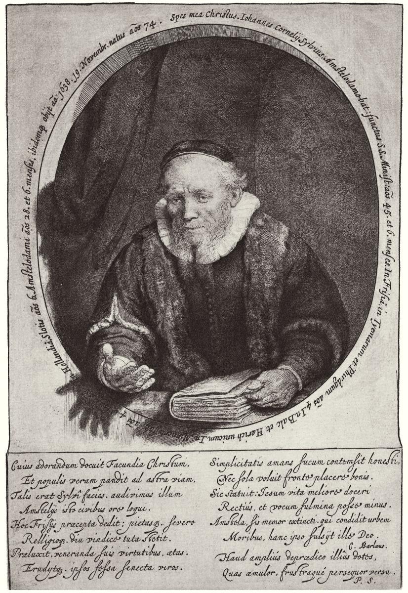 Рембрандт Харменс ван Рейн. Портрет Яна Корнелиса Сильвия