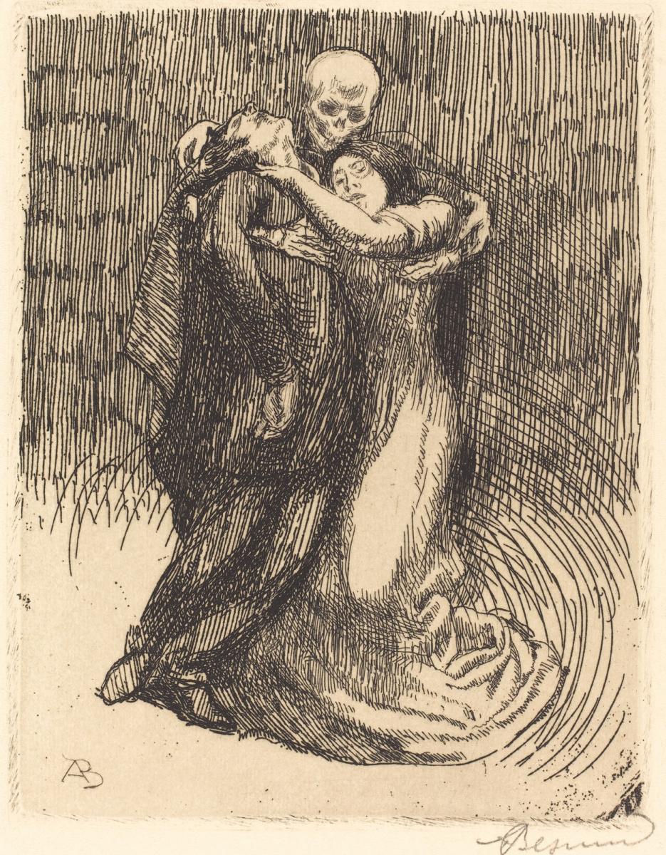 Paul Albert Benar. Love Consecrated. 1900