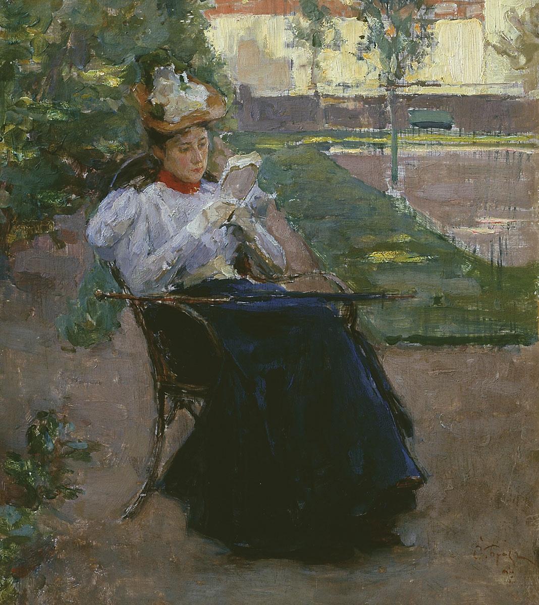 Osip Emmanuilovich (Joseph) Braz. For reading. 1897