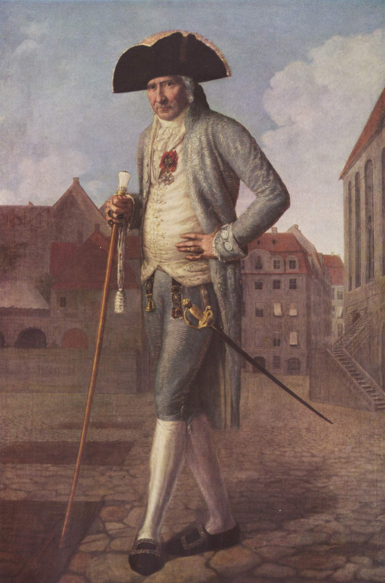 Иоганн Карл Вильк. Портрет барона Роршайдта