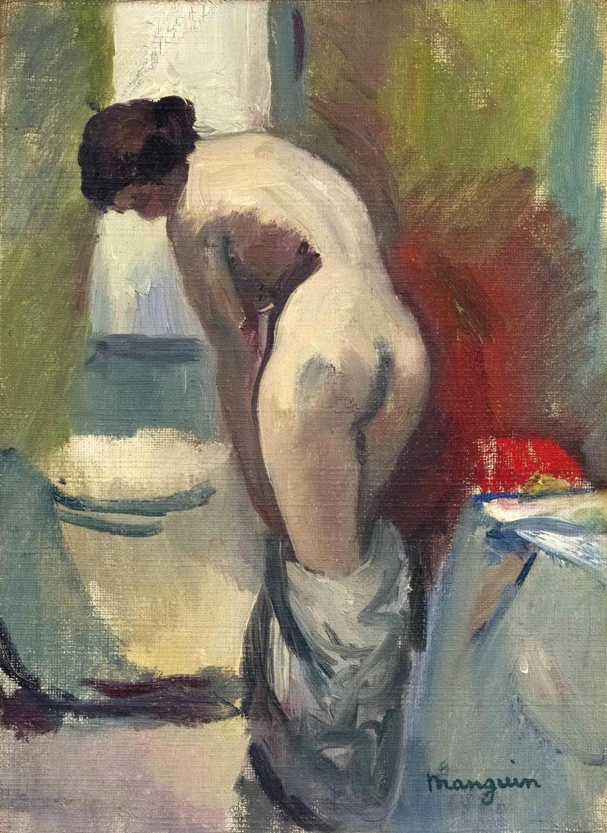 Henri Manguin. Standing Nude (small)