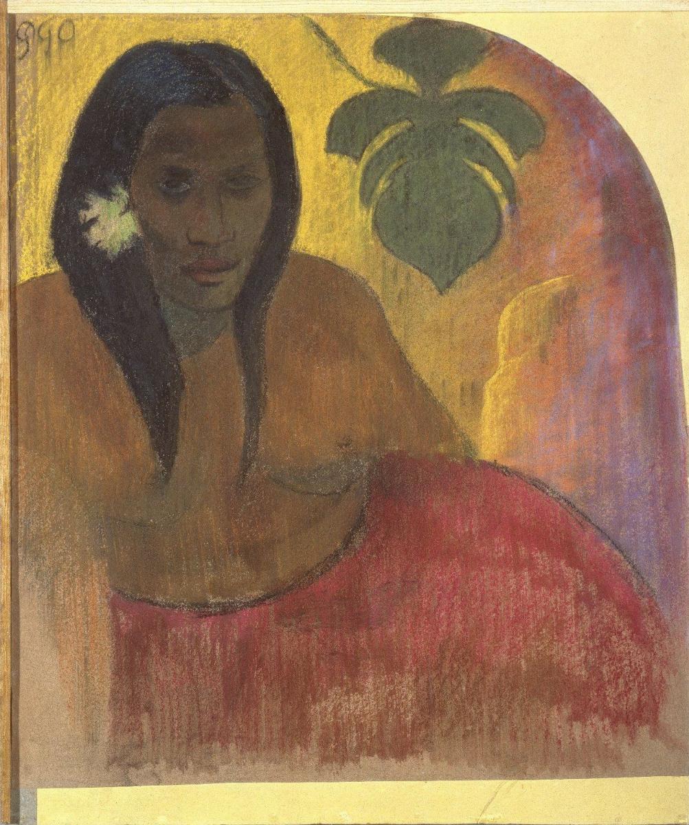 Поль Гоген. Таитянка