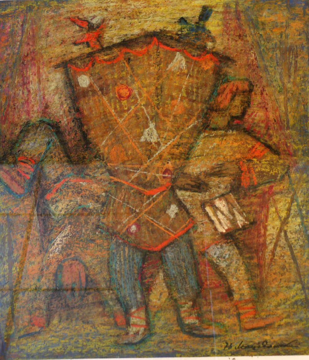 "Nikolay Antonovich Macedonian. ""Puppet Theater"""